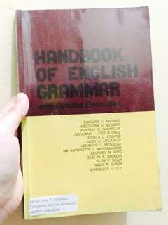 Handbook of English Grammar