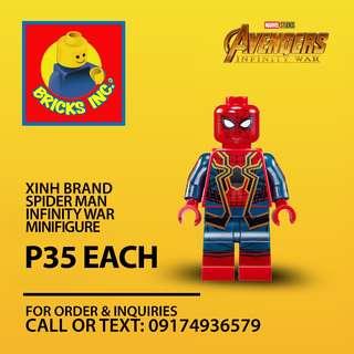 XINH™ Spider Man Infinity War Minifigures