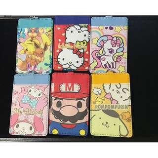 [INSTOCK] Hello kitty/Pokemon/My melody/unicorn/pompompurin/super mario Ezlink Card Holder