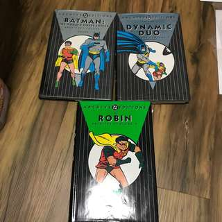 Dc archive edition Batman and robin