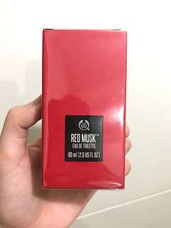 The body shop red musk EDT 60ml