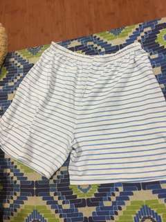 white-blue shirt