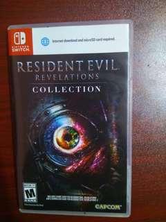 Nintendo switch Resident evil revelations 1