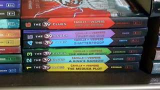 39 Clues: Cahills vs. Vespers Series (6 hard bound books)