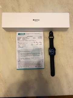 Apple Watch Series 3 42mm grey band