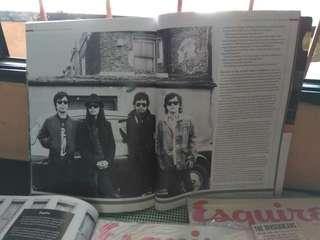 Esquire Magazine featuring the Eraserheads