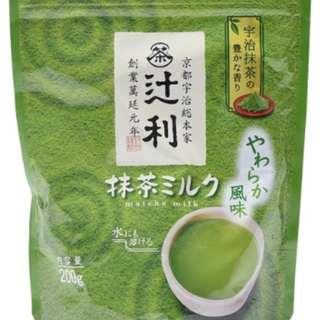 日本直購 辻利抹茶-牛奶風味