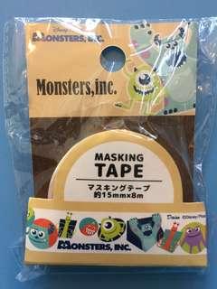 Disney Monsters, Inc. masking tape