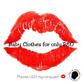 Preloved Clothes For Babies And Kids