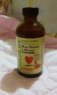 Child life Multi vitamins & Mineral