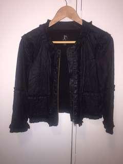 Karen Walker Faux Leather Jacket