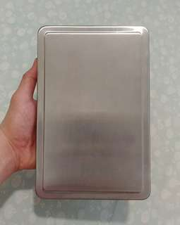 Stainless Steel Amulet box with 2 layer sponge.