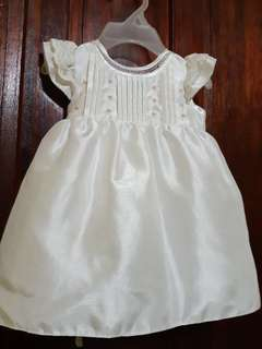 Baptismal Gown and Shoes Set