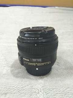 AF-S Nikkor 50 mmF 1.8 G len