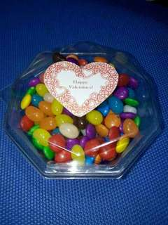 Candies and chocolate