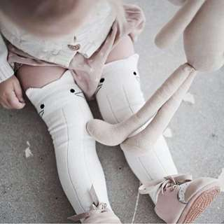 Ready Stocks Cute Baby Toddler Knee High Socks