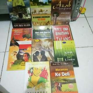 Novel Sastra Bebas Pilih Isi 4 Buku