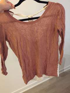 Aritzia xsmall shirt