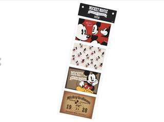 🚚 Sung-buy正版日本迪士尼米奇卡貼四入
