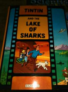 Tin Tin and the Lake of Sharks