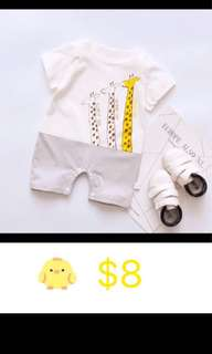 Baby romper for handsome baby