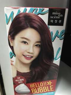 Misen Scene Hair Dye: Red Velvet Wine