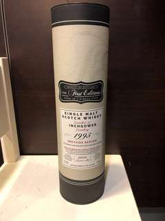 Hunters Laing First Edition 1995 20 Year  Old Inchgower Limited Edition Cask 12302