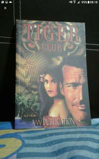 Local book  Tiger club  Russell cheong  Local history story book  Add $1 postage
