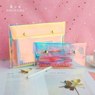 Holographic Pencil Case/Folder