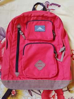 High Sierra Urban Backpack Icon Red