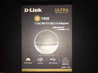 D-Link AC1900 wifi 3.0 Adapter