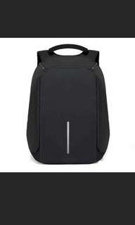 Anti-thief backpacks with USB cable
