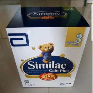 Great promotion-free petrol voucher:Similac Gain Plus Step 3 - 1 to 3 years old (3x600g)