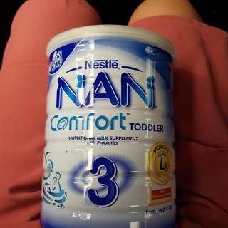 🚚 Nan Comfort  Toddler Stage 3 milk powder