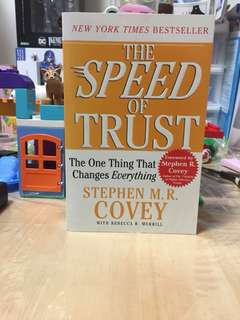 🚚 Pre-loved book - Speed of Trust