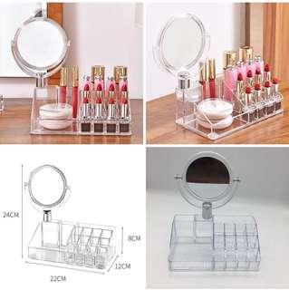 Cosmetic jewelry organizer
