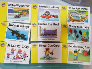 Phonics UK readers - 18 books