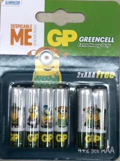 Triple A minion Battery