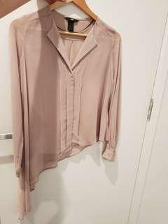 Asymmetrical blouse XS