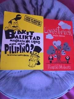 Bundle: Bakit baliktad magbasa ng libro ang mga pilipino & Lovestruck