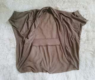 Beige cover up