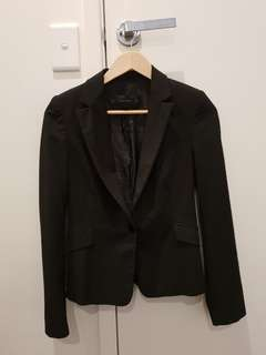 Zara black formal blazer XS