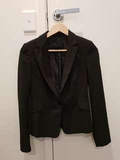 Zara black formal blazer XS
