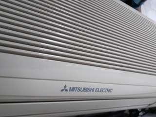 Mitsubishi aircond 1hp penghawa dingin