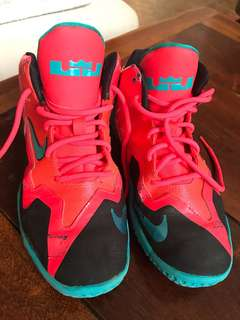 Authentic Nike LeBron rubber shoes