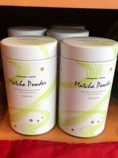 🚚 GET NOw Taiwan 🇹🇼 Starbucks Matcha Powder