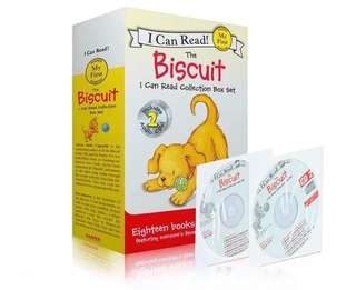 🚚 My first I Can Read-Biscuit of 18 books