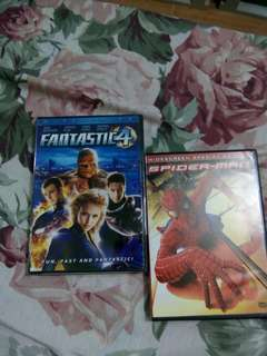 REPRICED Bundle Fantastic 4 / Spiderman Original