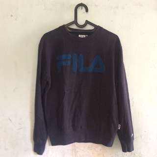 Fila crewneck/ sweater/ hoodie bukan champion