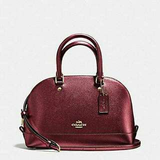 AUTHENTIC COACH MINI SIERRA SATCHEL